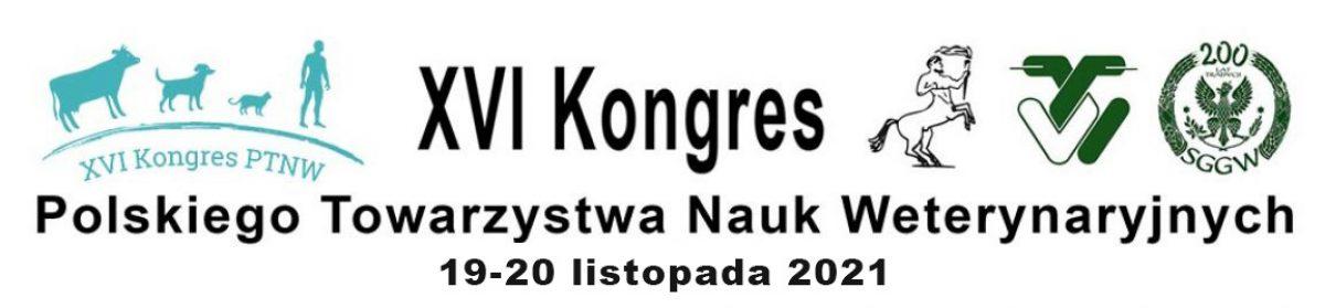XVI Kongres Polskiego Towarzystwa Nauk Weterynaryjnych PTNW